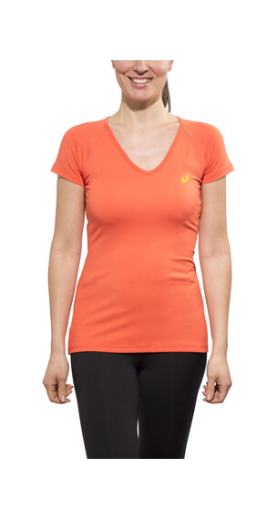 asics Performance - T-shirt course à pied Femme - orange